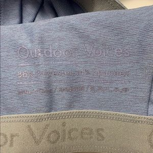 Outdoor Voices Tops - Outdoor Voices - Double Time sports bra